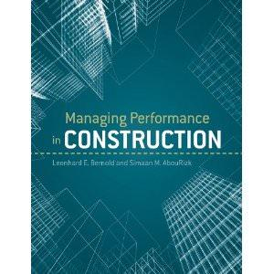 Managing Performance in Construction Image