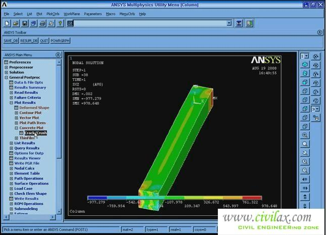 Ansys Civil Engineering Examples