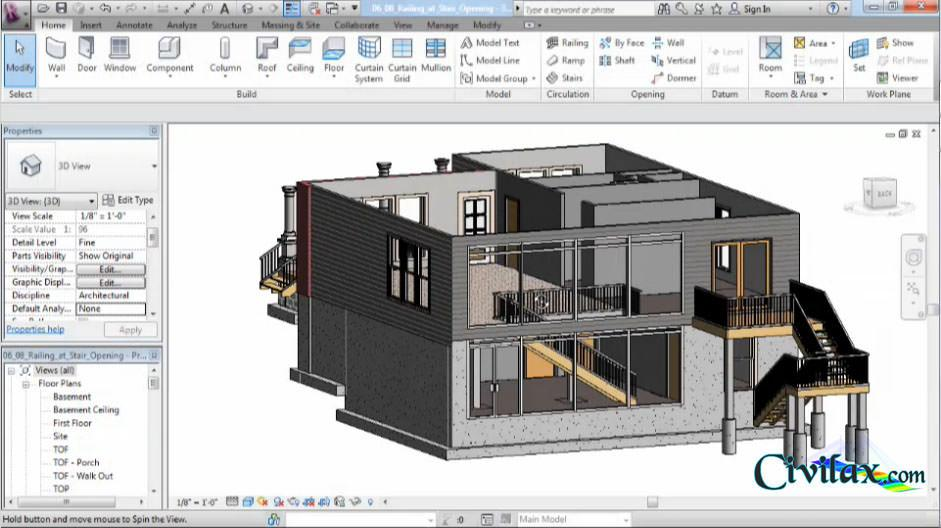 Designing A House In Revit Architecture