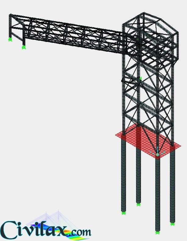 Modelling of Steel Structure using SAP2000