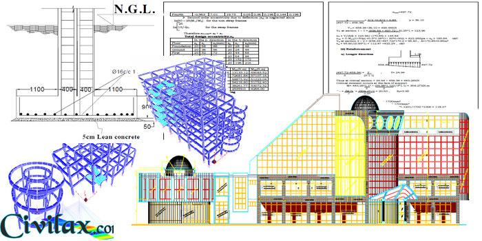 Structural Design Calculation of Building