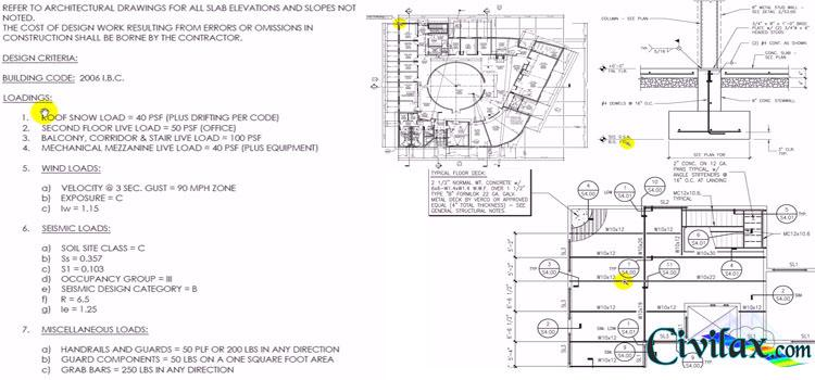 Reading Structural Drawings Civil Engineering Community