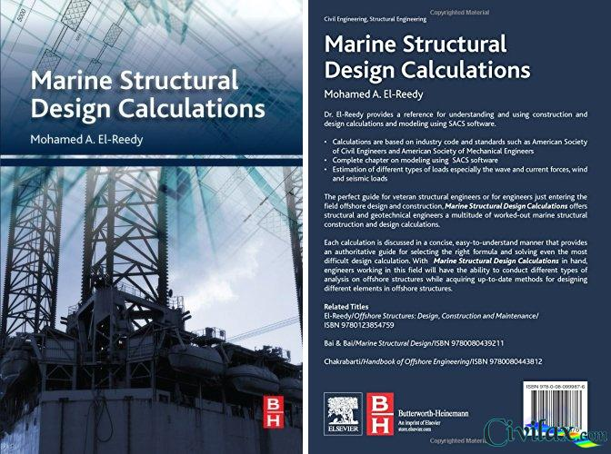 Marine Structural Design Calculations - Civil Engineering