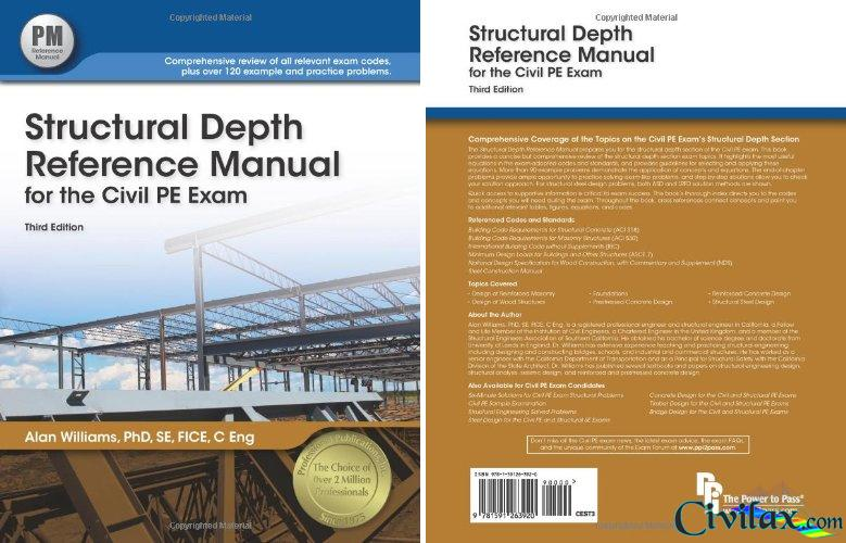 Structural Depth Reference Manual For The Civil Pe Exam Civil