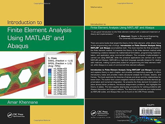 Introduction to Finite Element Analysis Using MATLAB and
