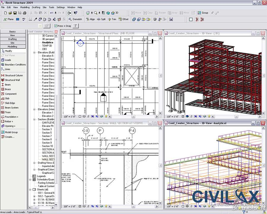 Structural Families in Revit