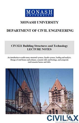 Building Structures and Technology Lecture Notes