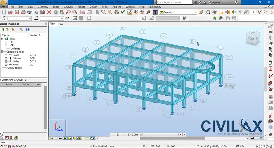 Define Slab, Modeling Curved Beam,Curved Slab