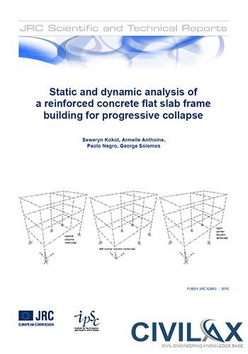 Static and Dynamic Analysis of a Reinforced Concrete Flat