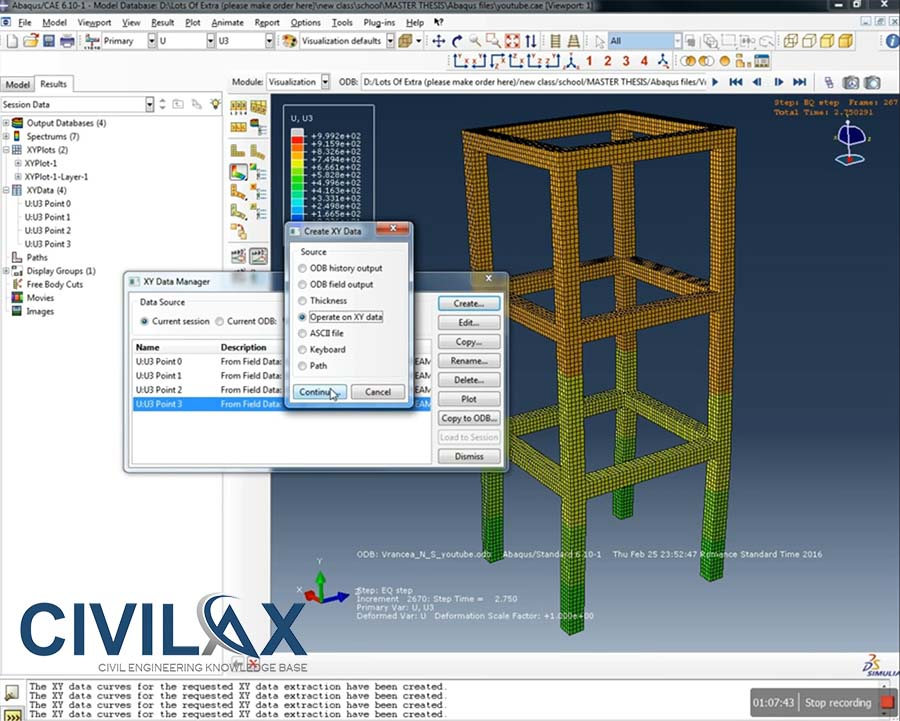 Modeling reinforced concrete using abaqus
