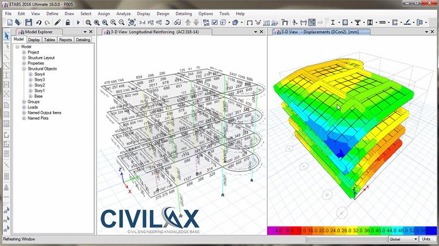 Design of Reinforced Concrete Frame, Column and Beam in