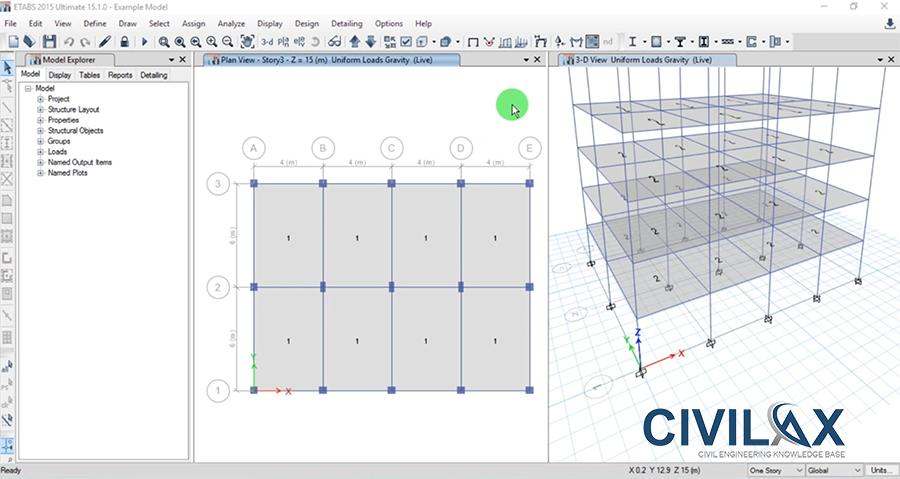 ETABS API - Programming for Design of Isolated Footing - Civil
