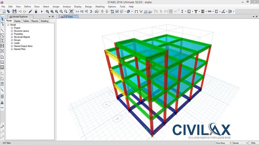Modeling Staircase in ETABS 2016 - Civil Engineering Community