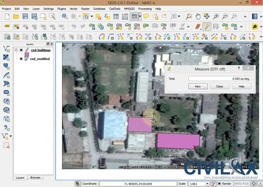QGIS New Vector Layer, Georeferencing, Digitization