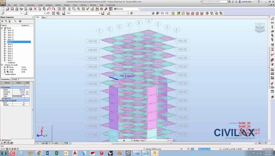 Autodesk Robot Structural Analysis 2017 Vs Sap2000 Civil