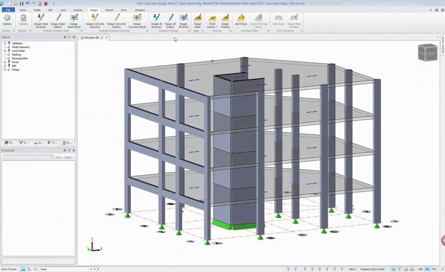 Tekla Structural Designer 2017 Tutorial: Seismic Analysis