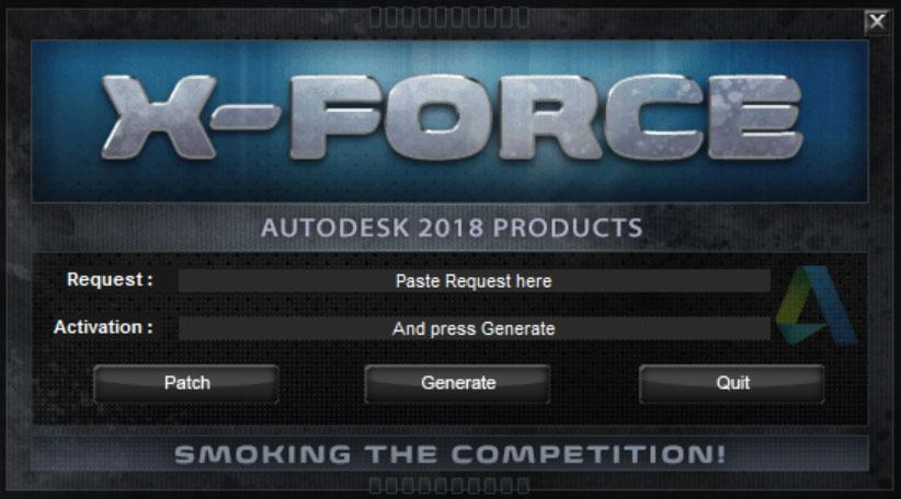 X Force Keygen For All Autodesk Products 2018 Civil