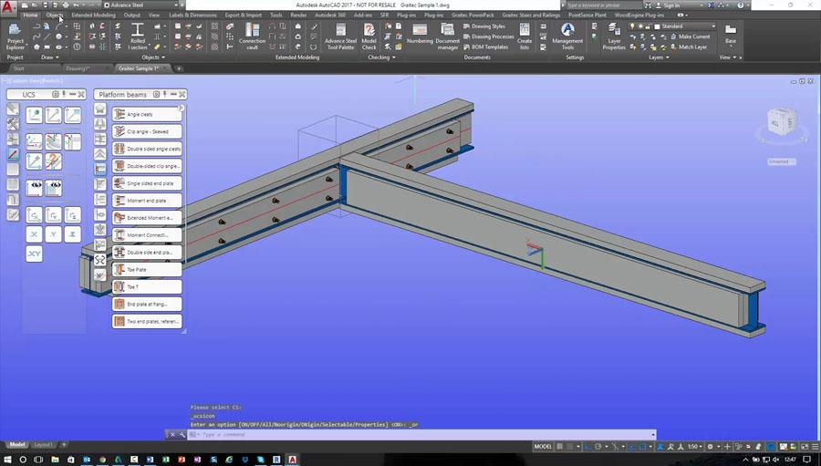 Advance Steel For Timber Framing - Adding Beam Packers