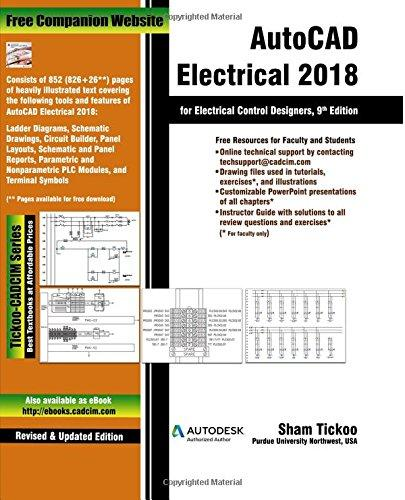 AutoCAD Electrical 2018 for Electrical Control Designers