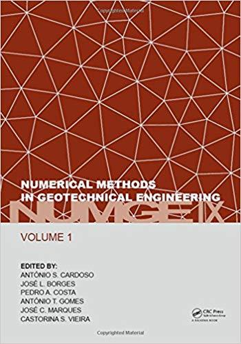 Numerical Methods in Geotechnical Engineering IX, Volume 1
