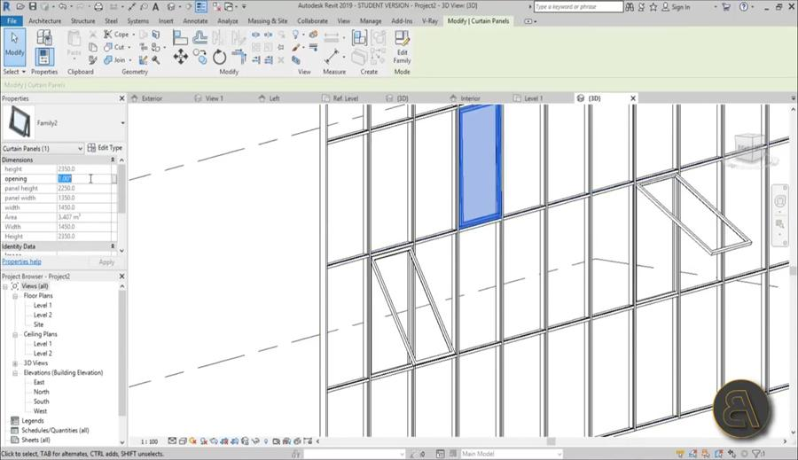 Revit tutorials: creating a revit window family part 2 youtube.