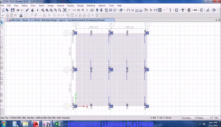Design and Detailing of Waffle Slab in ETABS - Civil