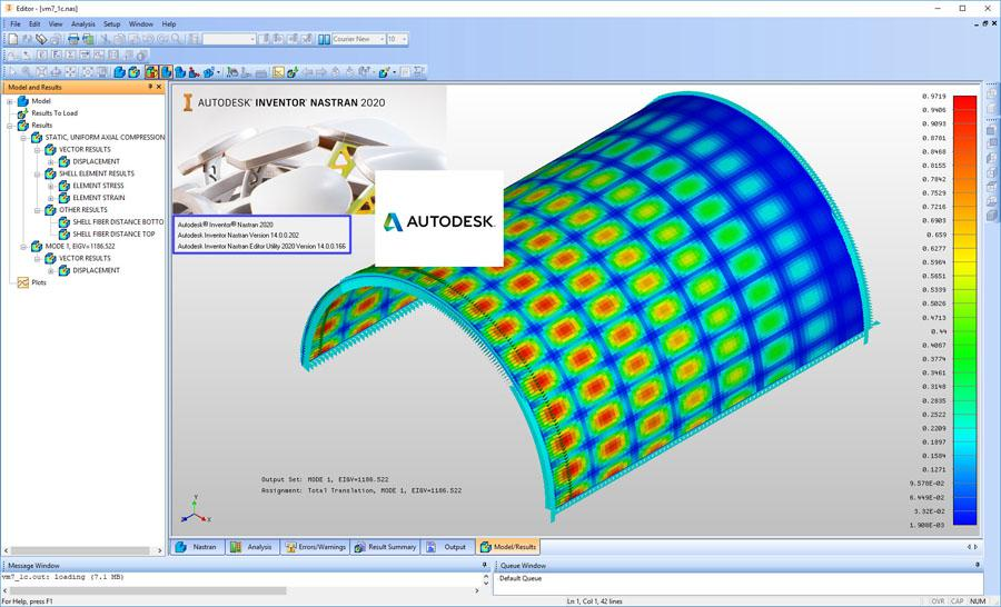 Autodesk Inventor Nastran 2020 - Civil Engineering Community