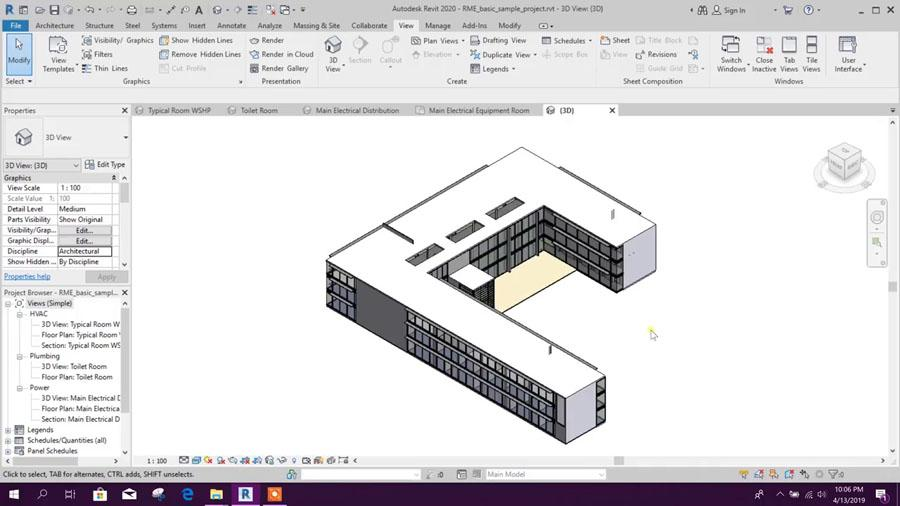 Revit 2020 Tutorial for Beginners - General Overview - Civil