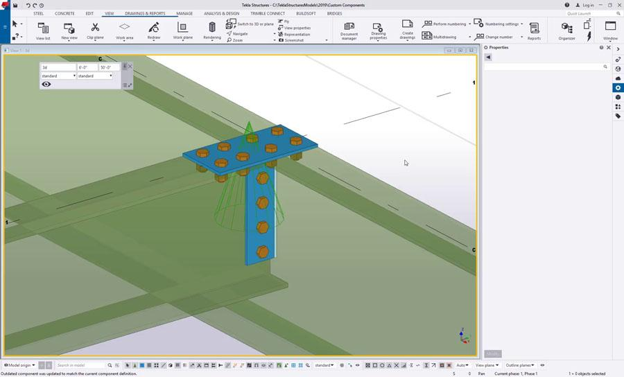 Custom Components - Getting Started with Formulas in Tekla